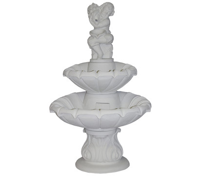 fantasieco Stein-Gartenbrunnen Aosta, Ø 80 x 139 cm