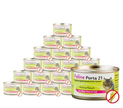 Feline Porta 21 Nassfutter, 24 x 90 g
