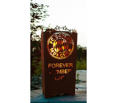 Ferrum FCB Feuerkorb Forever, eckig, 40 x 40 x 83 cm, rost