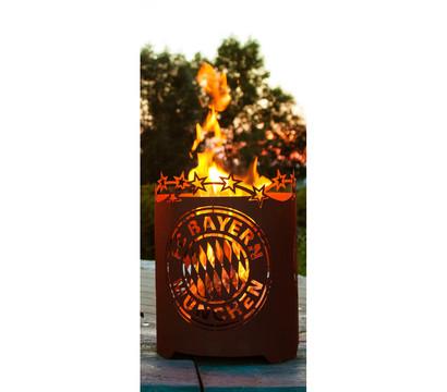 Ferrum FCB Feuerkorb, rund, Ø 39 x 50 cm, rost