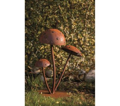 ferrum metall fliegenpilz rost – sweetmenu, Gartenarbeit ideen