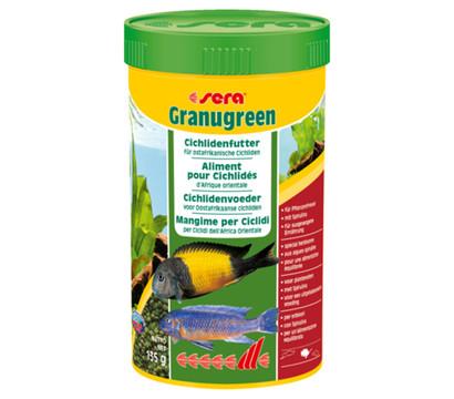Fischfutter sera Granugreen, 135 g