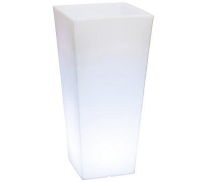fleur ami Polyethylen Lumenio LED-Pflanzgefäß eckig, multicolor