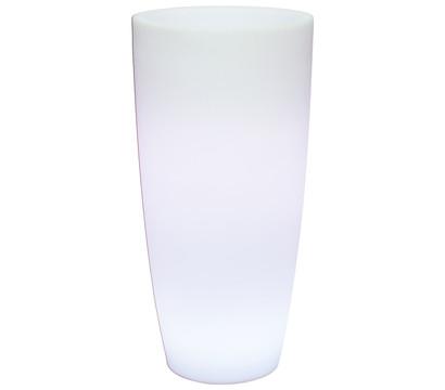 fleur ami Polyethylen Lumenio LED-Pflanzgefäß rund, multicolor