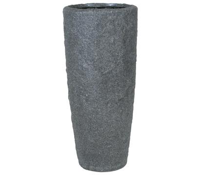 fleur ami Polyresin Rocky Pflanzgefäß, smoke-granit