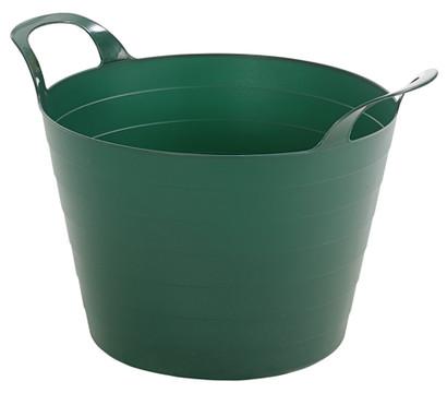 Flexi Gartenwanne, rund, dunkelgrün, Ø 40 cm