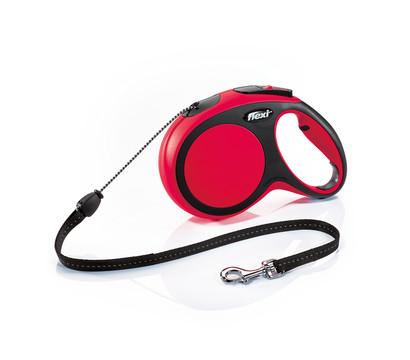 flexi® Hundeleine Seil-Leine New Comfort, Medium, 8m