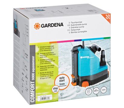 gardena comfort tauchpumpe 9000 aquasensor dehner garten. Black Bedroom Furniture Sets. Home Design Ideas