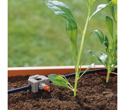 gardena micro drip system rohrf hrung 3 16 39 39 dehner. Black Bedroom Furniture Sets. Home Design Ideas