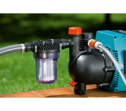 gardena pumpen vorfilter wasserdurchfluss bis l h. Black Bedroom Furniture Sets. Home Design Ideas