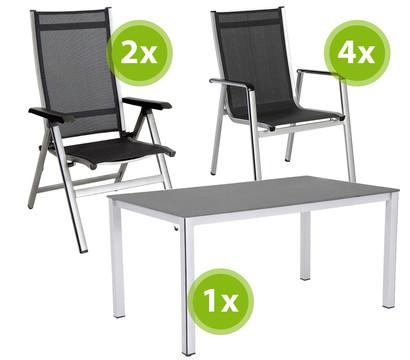 gartenm belset elements 7 teilig dehner garten center. Black Bedroom Furniture Sets. Home Design Ideas