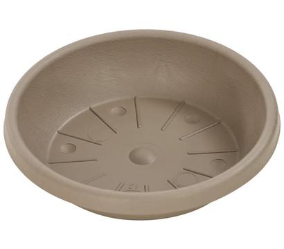Geli Kunststoff-Untersetzer Cylindro, rund, taupe