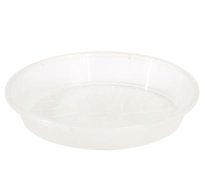 Geli Kunststoff-Untersetzer Standard, rund, transparent
