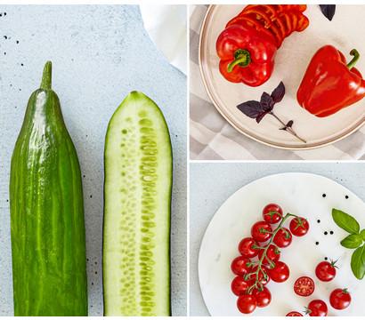 Gemüsepaket Bio-Mix, 3 Pflanzen