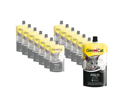 GimCat Katzenmilch, Katzensnack, 14x200 ml