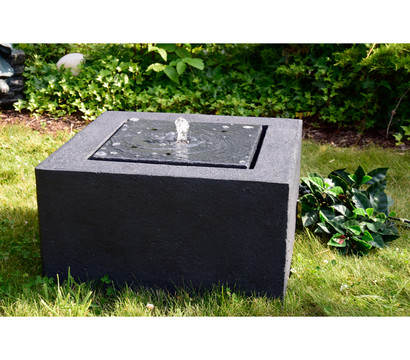 granimex polystone-gartenbrunnen wasserspiel quader, 50 x 50 x 35, Hause und Garten