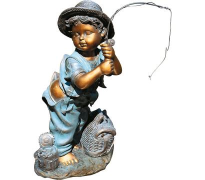 Granimex Polystone-Angler Mario, ca. B27/H53/T24 cm