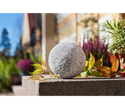 Granit kugel grau 13 cm dehner garten center for Granit deko garten