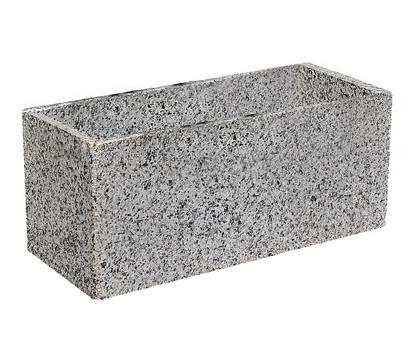 Granit Pflanztrog Grau Dehner