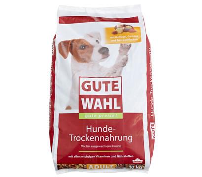 Gute Wahl Hunde-Trockennahrung Adult, Geflügel, Gemüse und Getreideflocken