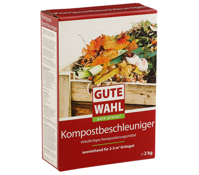 Gute Wahl Kompostbeschleuniger, 2 kg