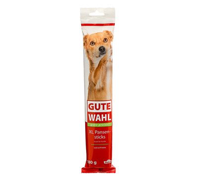 Gute Wahl XL Sticks, Hundesnack, 180g