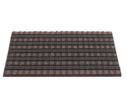 Hamat Fußmatte Quadro Scrape, braun/schwarz, 60 x 40 cm
