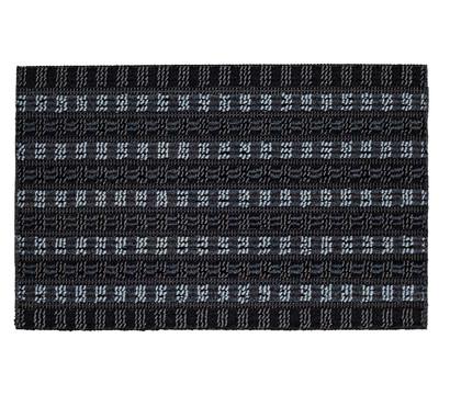 Hamat Fußmatte Quadro Scrape, grau/schwarz, 60 x 40 cm