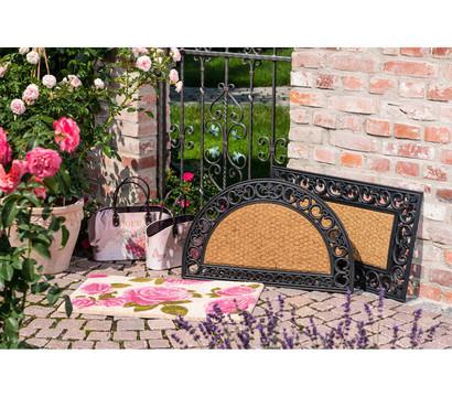 hamat fu matte gazelle halbrund 75 x 45 cm dehner garten center. Black Bedroom Furniture Sets. Home Design Ideas