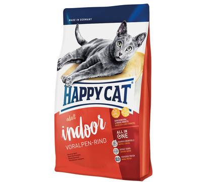 Happy Cat Supreme Indoor Adult, Voralpen-Rind, Trockenfutter