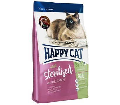 Happy Cat Trockenfutter Adult Sterilised, Weide-Lamm