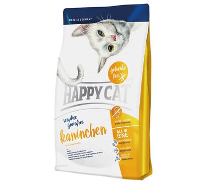Happy Cat Trockenfutter Sensitive, Grainfree Kaninchen