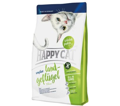 Happy Cat Trockenfutter Sensitive, Land-Geflügel