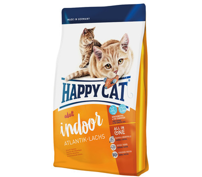 Happy Cat Trockenfutter Supreme Indoor Adult, Atlantic-Lachs