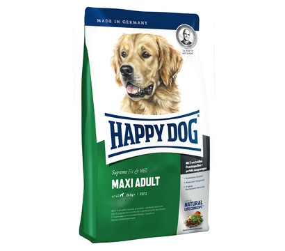 Happy Dog Maxi Adult Fit & Well, Trockenfutter