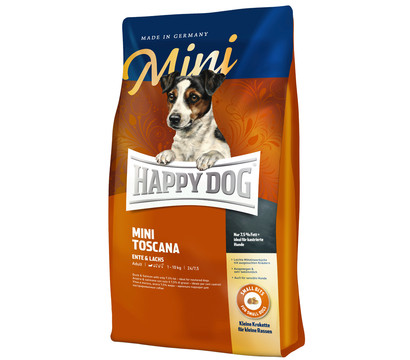 happy dog supreme mini toscana trockenfutter 4 kg dehner garten center. Black Bedroom Furniture Sets. Home Design Ideas