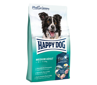 Happy Dog Trockenfutter Fit & Vital Medium Adult