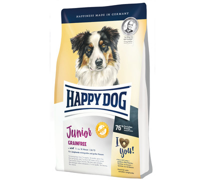 Happy Dog Trockenfutter Junior Grainfree