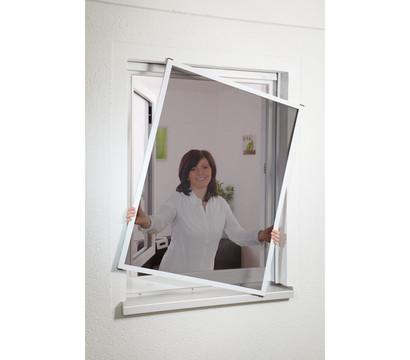 Hecht Fliegengitter Fenster mit Pollenschutz, 100x120 cm