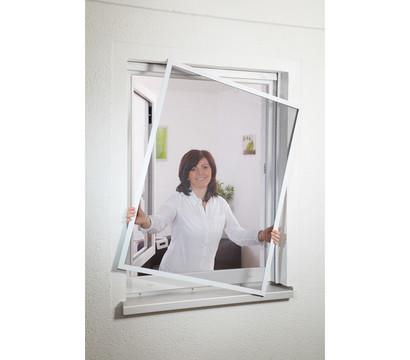 Hecht Fliegengitter Fensterbausatz COMPACT, 130x150 cm