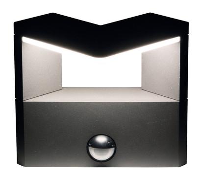 heitronic led wandleuchte bonita mit bewegungsmelder dehner garten center. Black Bedroom Furniture Sets. Home Design Ideas