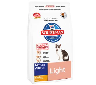 hill 39 s feline mature adult 7 light huhn trockenfutter 1. Black Bedroom Furniture Sets. Home Design Ideas