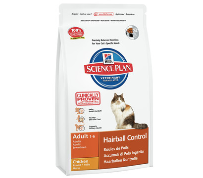 Hill's™ Science Plan™ Trockenfutter Hairball Control Adult 1-6
