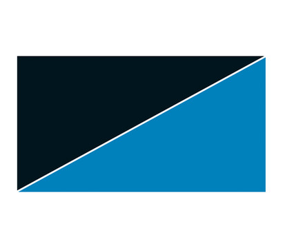 Hobby Aquarium Rückwand, Blau/Schwarz