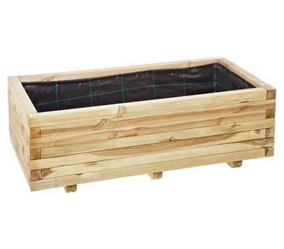 Holz blumenkasten oskar 100 x 50 x 35 cm dehner garten for Wohnzimmertisch 100 x 50