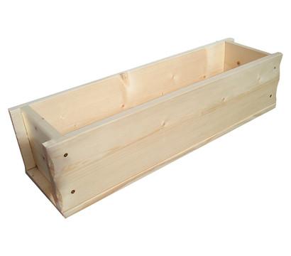 Holz-Blumenkasten, rechteckig