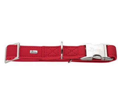 HUNTER® Hundehalsband Softie Alu-Strong, rot