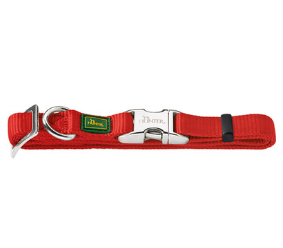 "HUNTER Hundehalsband ""Vario Basic Alu Strong"", rot"