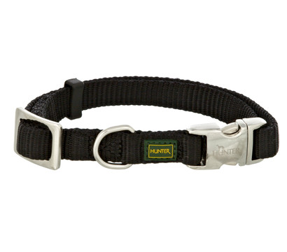 HUNTER Hundehalsband Vario Basic Alu Strong, schwarz