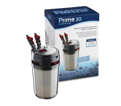 hydor Außenfilter PRIME 20 mit Filtermedien